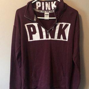 Victoria's Secret Pink Half Zip